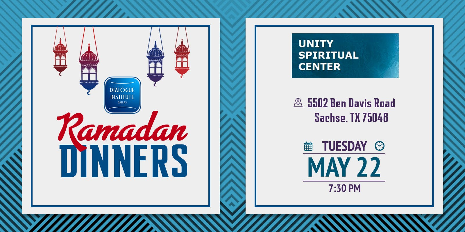 Ramadan Dinner at Unity Spiritual Center