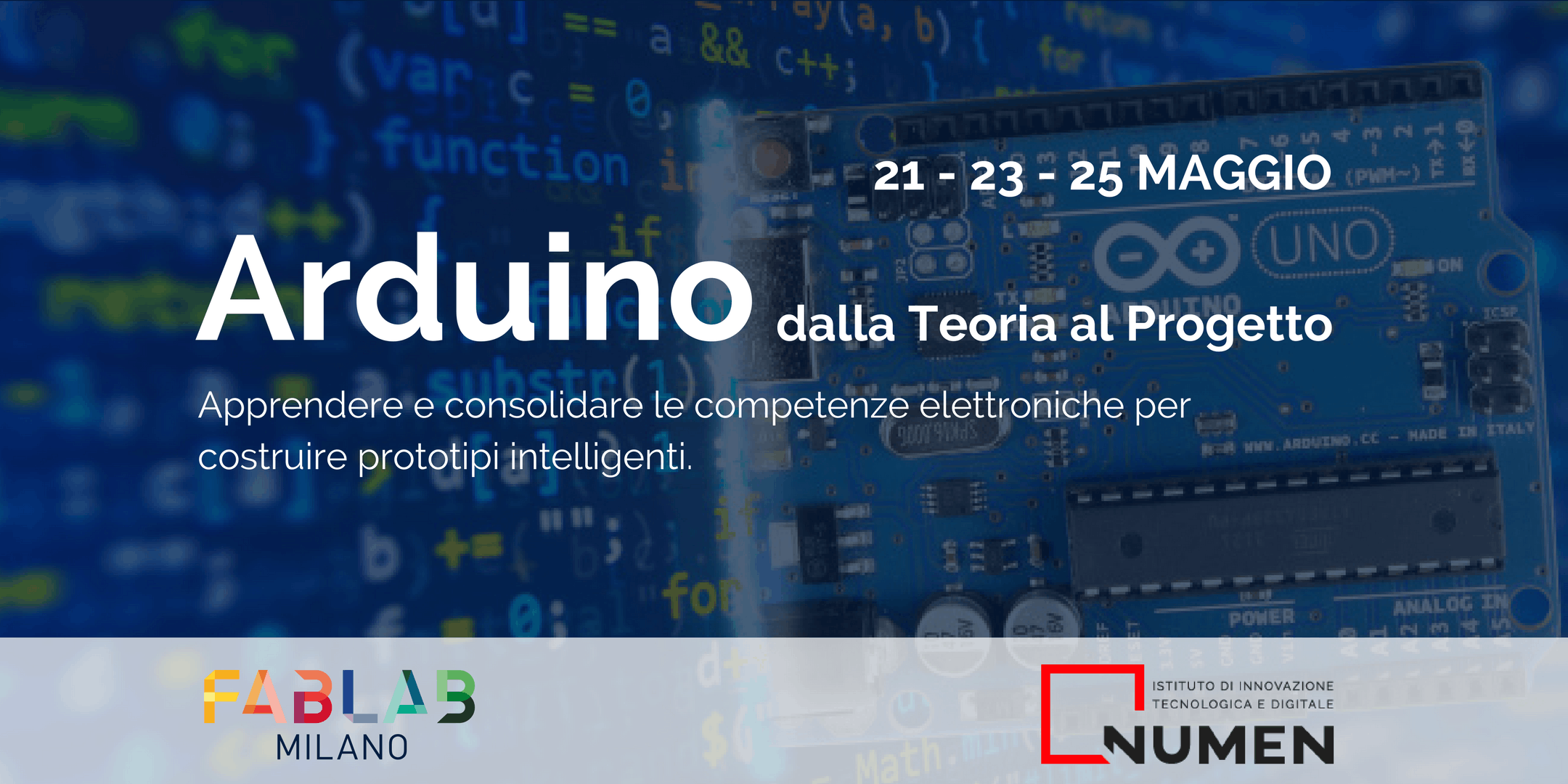 Workshop - ARDUINO | dalla Teoria al Progetto