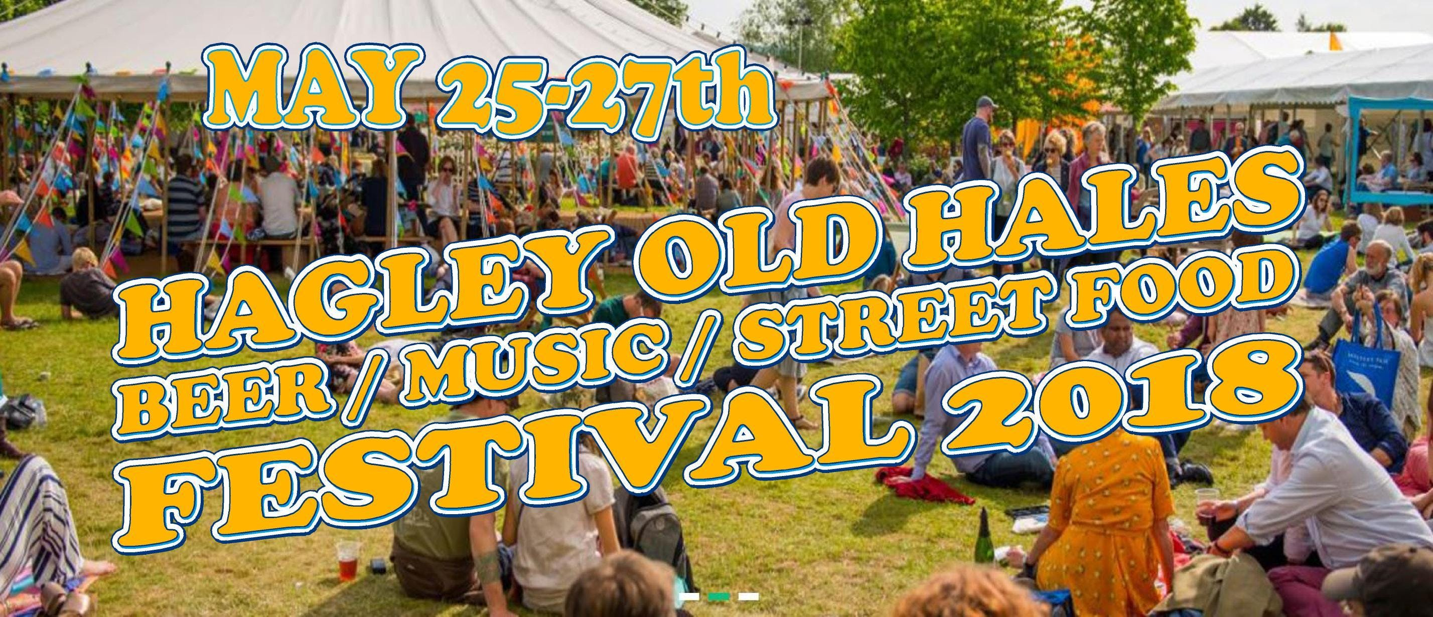 Hagley Old Hales Festival  May 25-27th 2018
