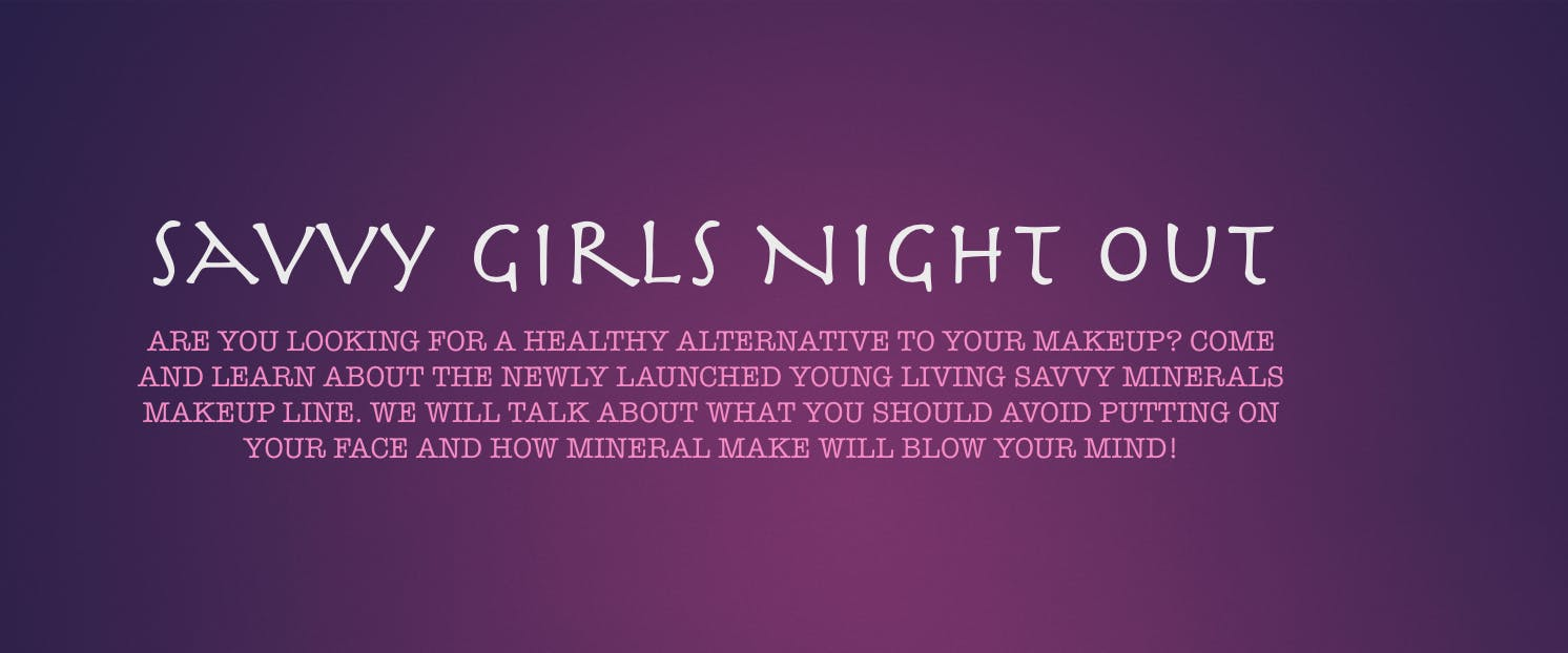 Savvy Girls Night Out