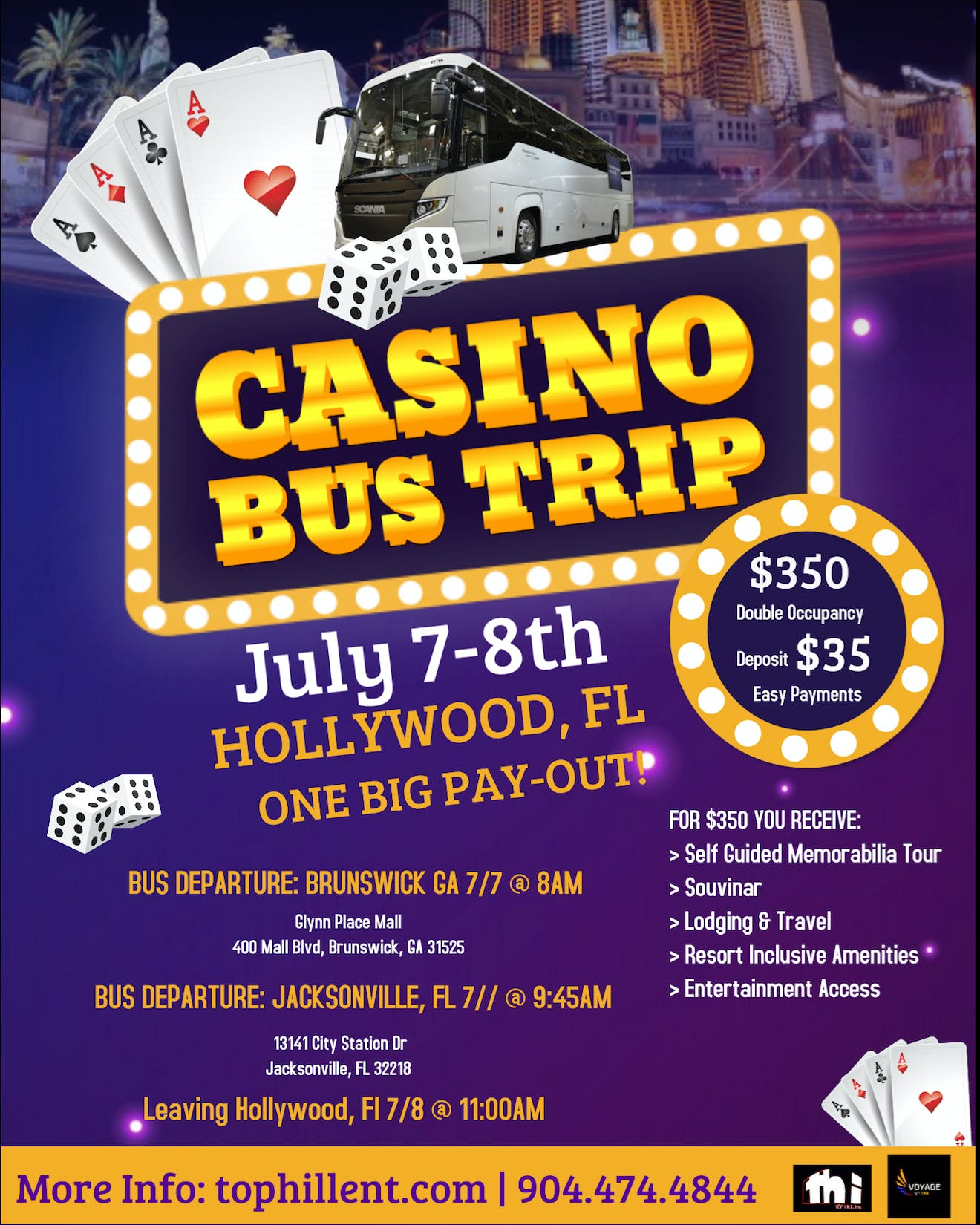 Casino Bus Trip: Rolling for a Reason
