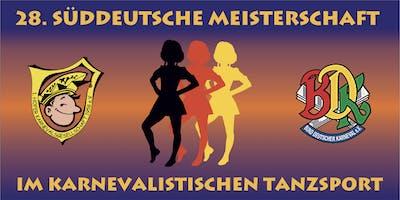 28. Süddeutsche Meisterschaft im karnevalistischen Tanzsport (Jugend)
