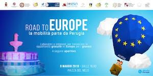 Road to EUROPE - La mobilità parte da Perugia #EUROPG