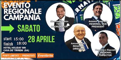 Evento Regionale Cava de' Tirreni OSPITI Sabato 28 Aprile 2018