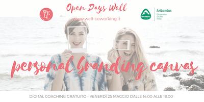 PERSONAL BRANDING CANVAS digital coaching gratuito - Open Days Well