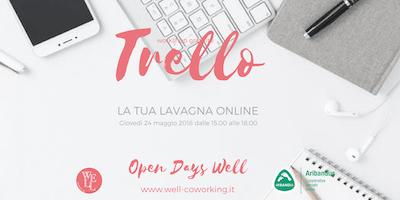WORKSHOP GRATUITO TRELLO - Open Days Well