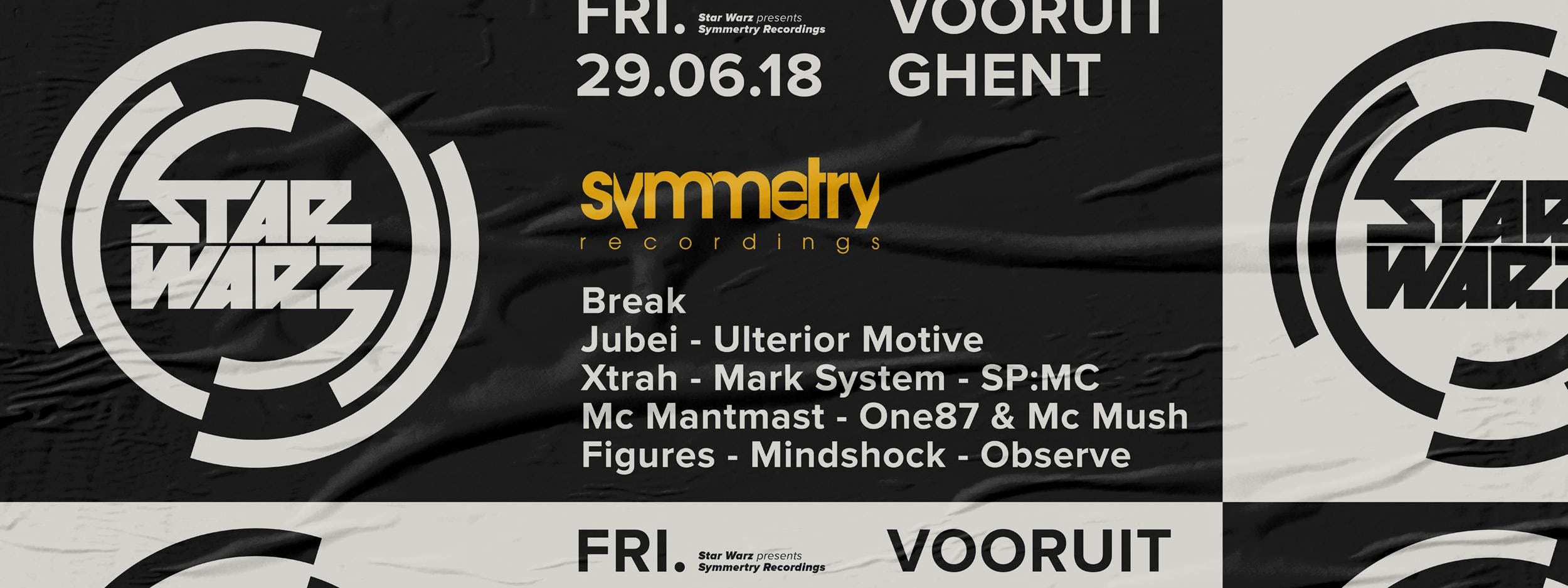 Star Warz presents Symmetry Recordings