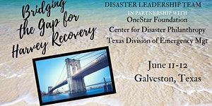 Bridging the Gap for Harvey Recovery