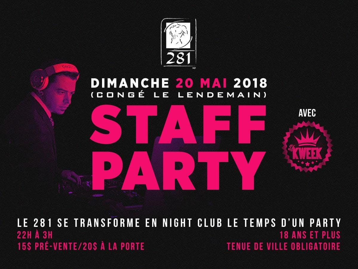 Staff Party du 281