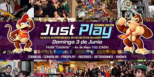 Just Play! / Evento Gamer - The Gaming Champions!