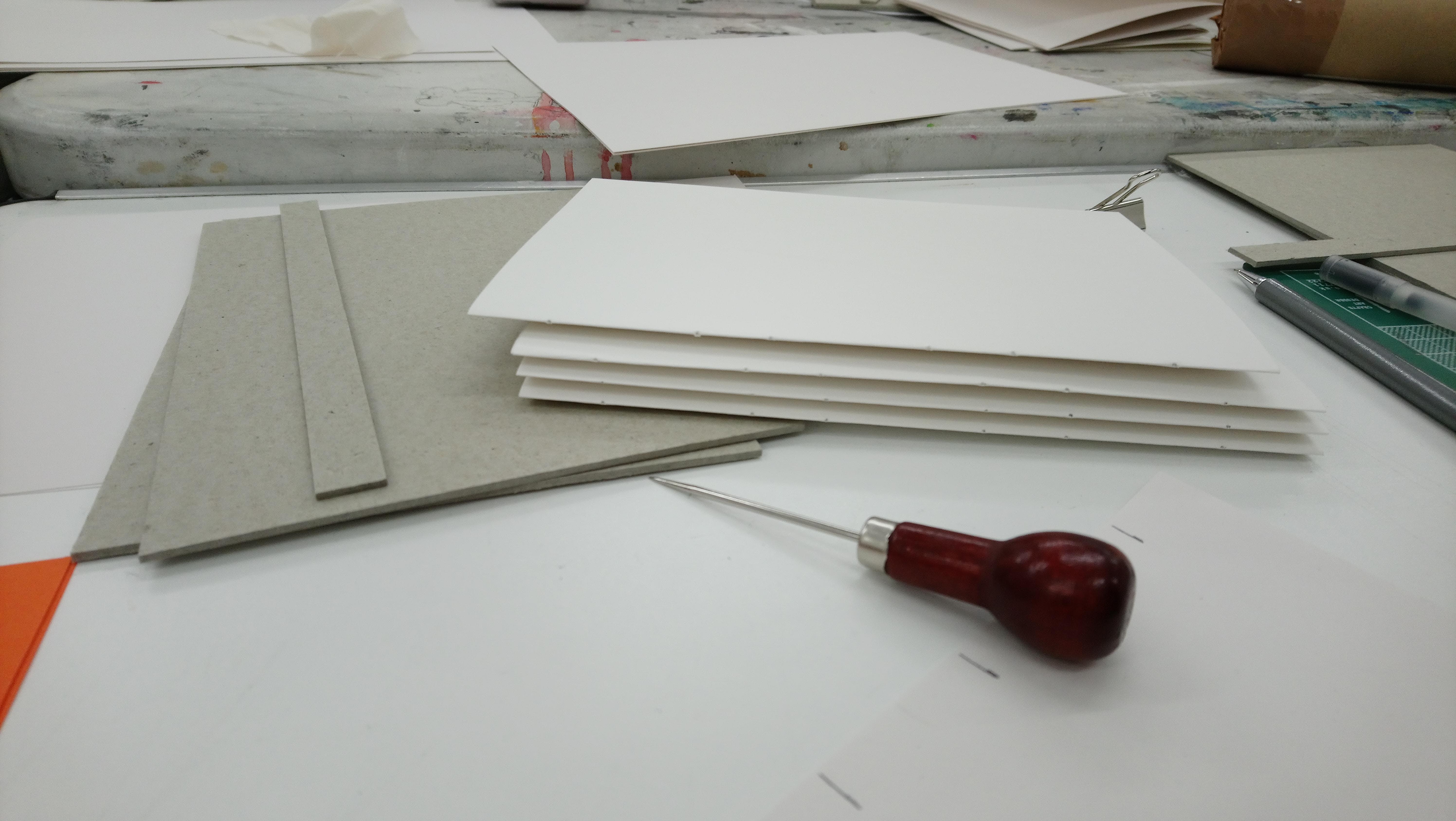 Make your own sketchbook