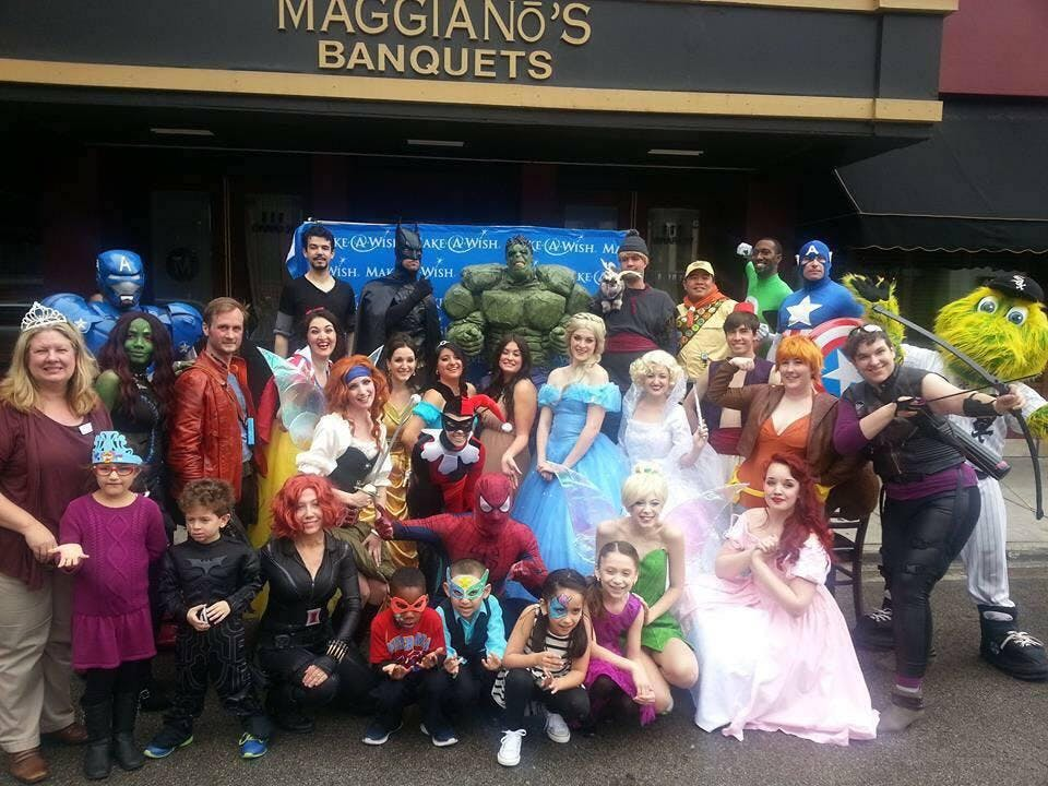 Superhero & Princess Brunch