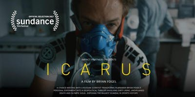 Icarus Screening and Q&A with Bryan Fogel Presented by Creative Visions and the City of Malibu