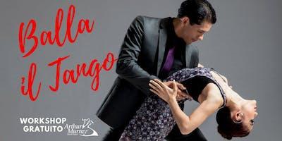 Workshop Gratuito - Balla il Tango