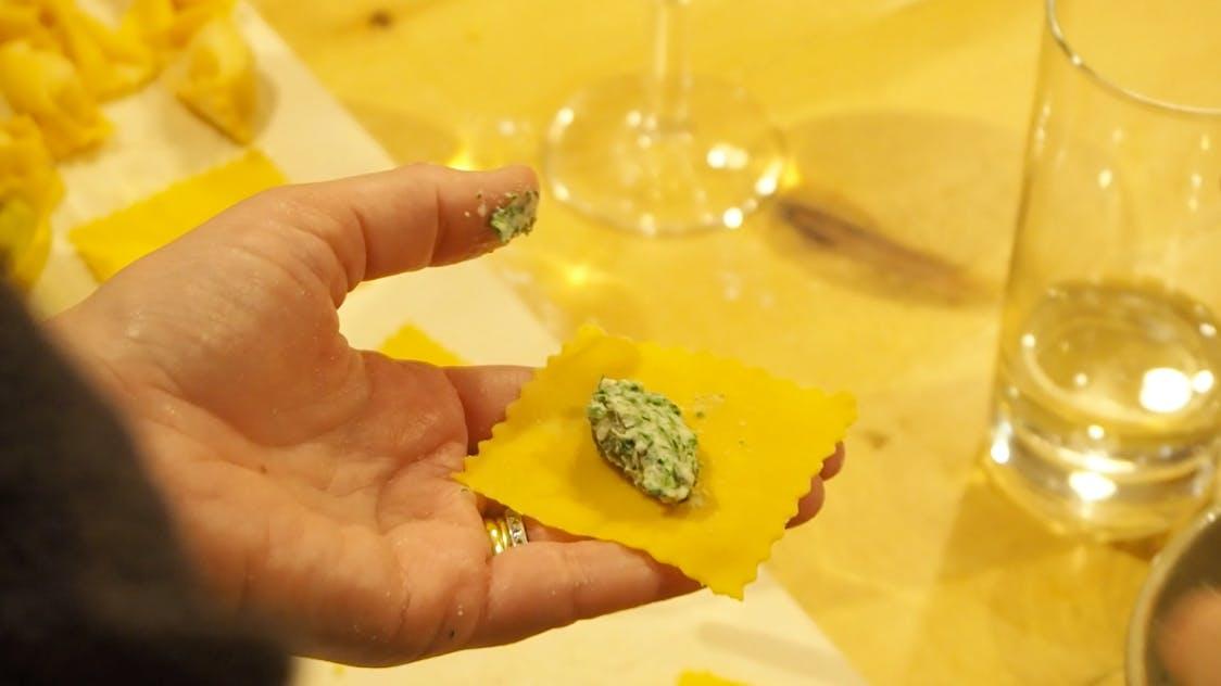 London fresh pasta making masterclass with wi