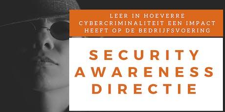 Security Awareness Directie Training (Nederlands) billets