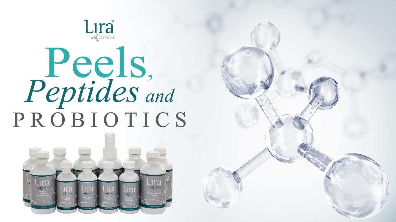 Peels, Peptides and Probiotics! The NEW Treat