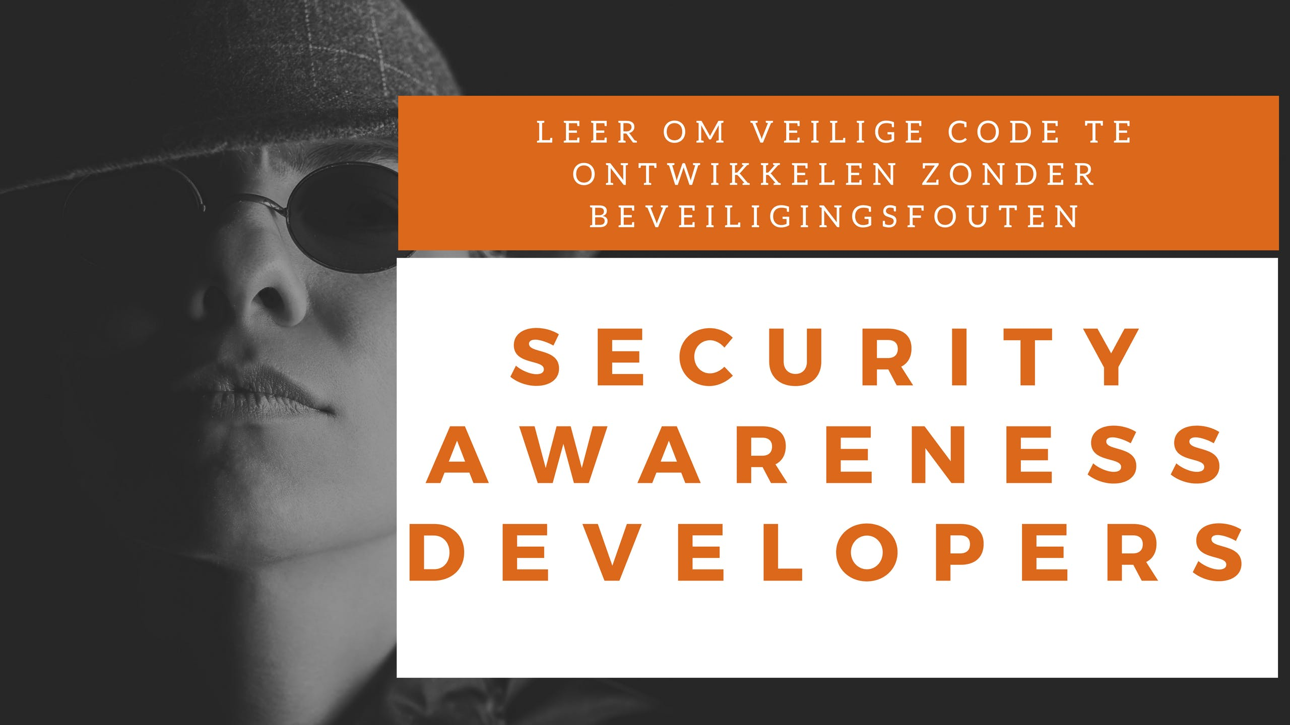 Security Awareness Developers Klassikale Training (Nederlands)