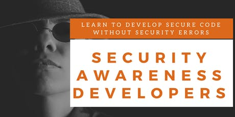 Security Awareness Developers Training (English) billets