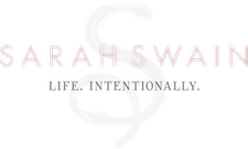 Sarah Swain - Life. Intentionally. logo
