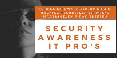 Security Awareness IT Professionals Klassikale Training (Nederlands)