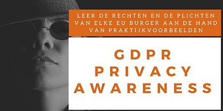 Privacy Awareness Training (Nederlands) tickets
