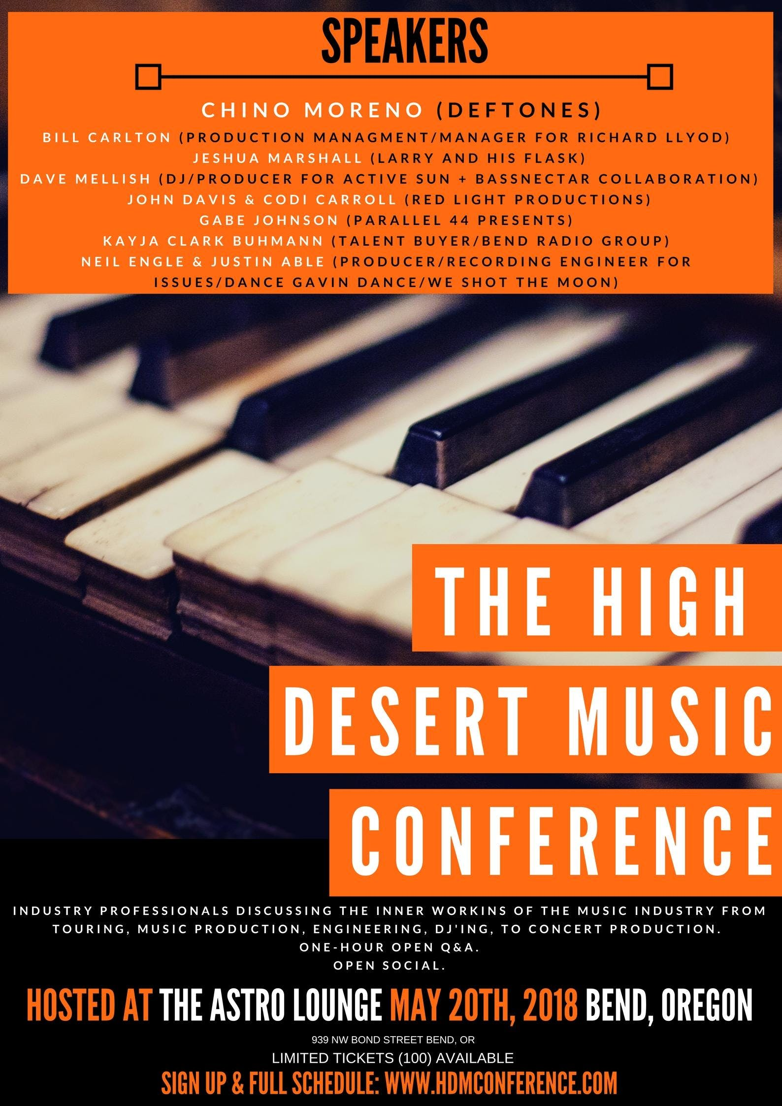 The High Desert Music Conference