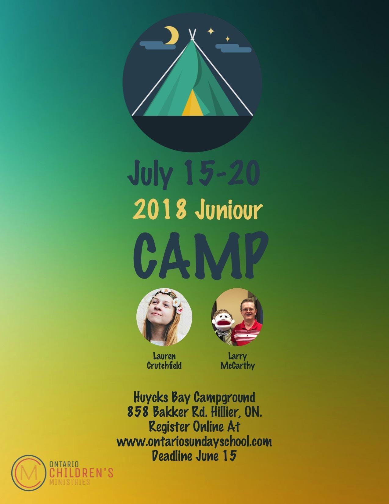 UPCI Ontario Jr Camp