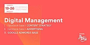 Digital Management - scegli il tuo modulo!