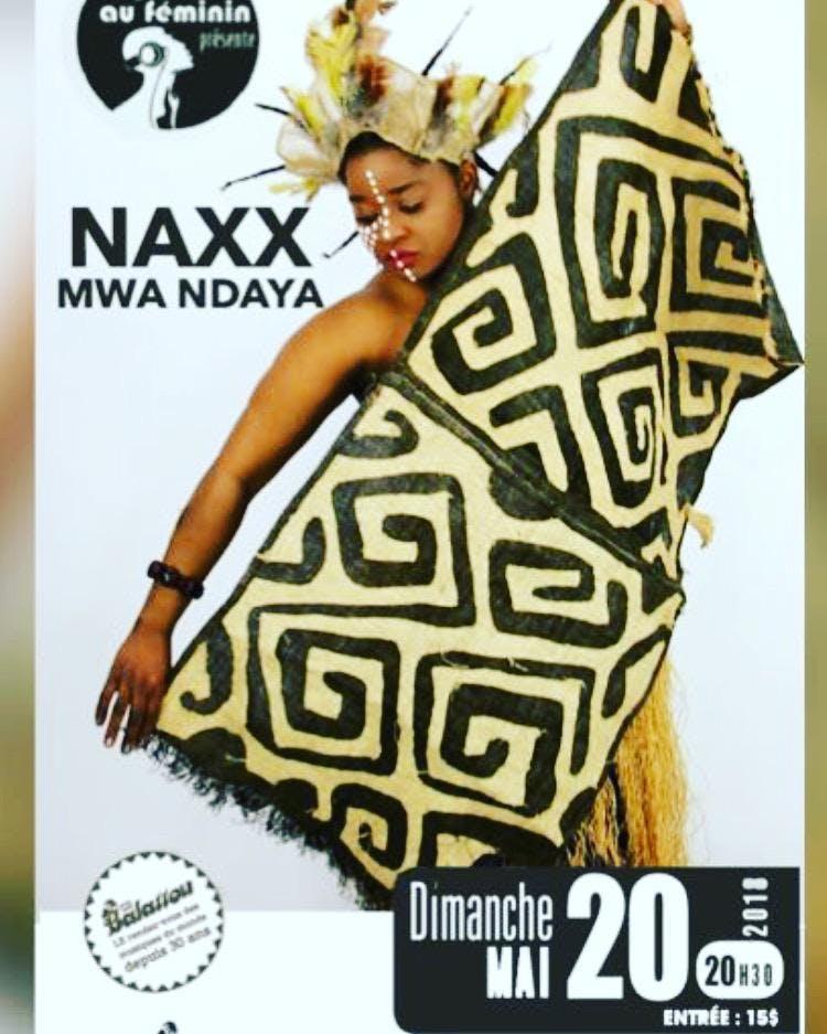 Musique du monde avec Naxx Mwa Ndaya