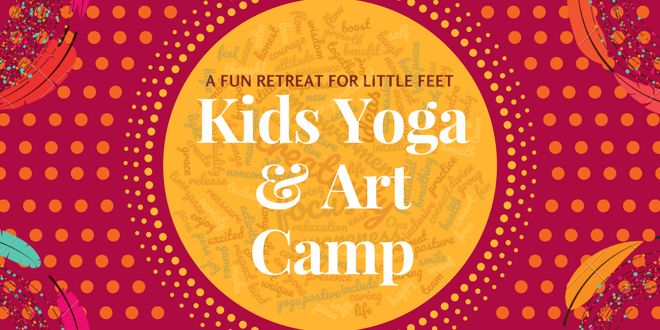 Kids Yoga and Art Summer Camp