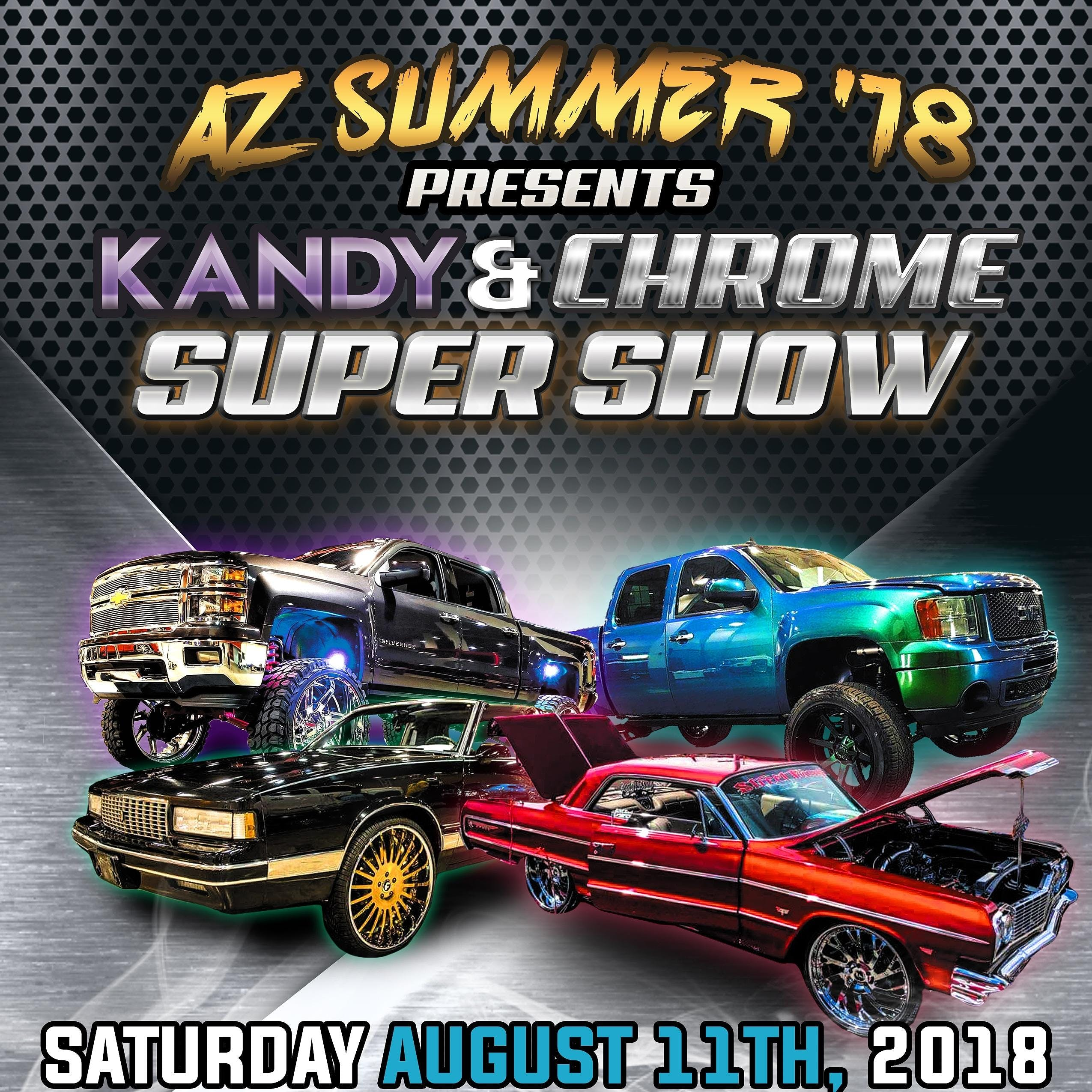 Az Summer Presents Kandy And Chrome Vehicle Registrations - Tucson classic car show 2018