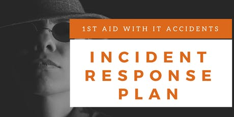 Incident Response Plan Training (English) tickets