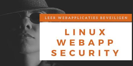 Webapplicatie Security Training (Nederlands) tickets