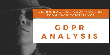 GDPR Gap Analysis Training (English) tickets