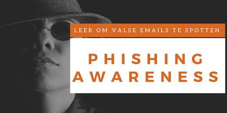 Phishing Awareness Training (Nederlands) tickets