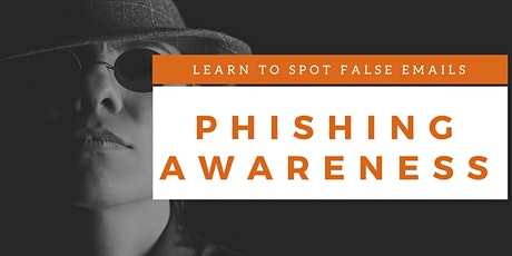 Phishing Awareness Classroom Training (English) tickets