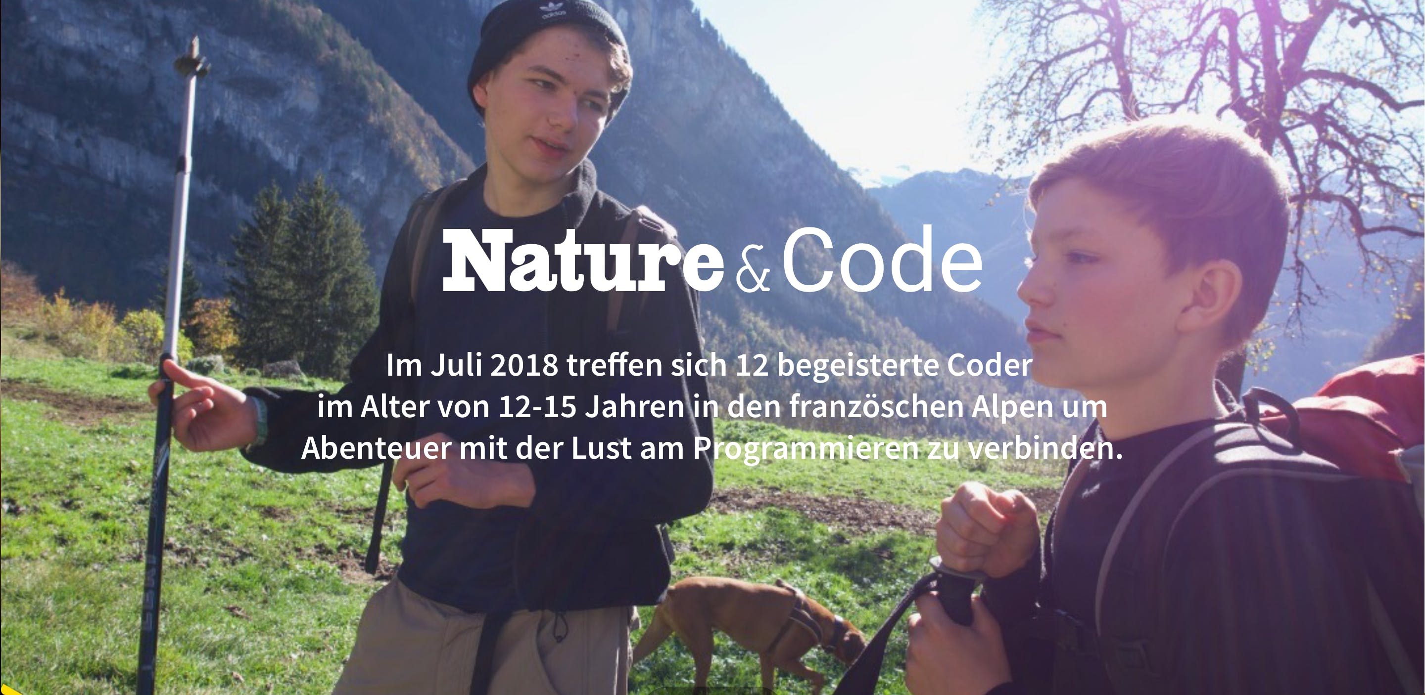 Nature & Code – Adventure-Programmier-Camp