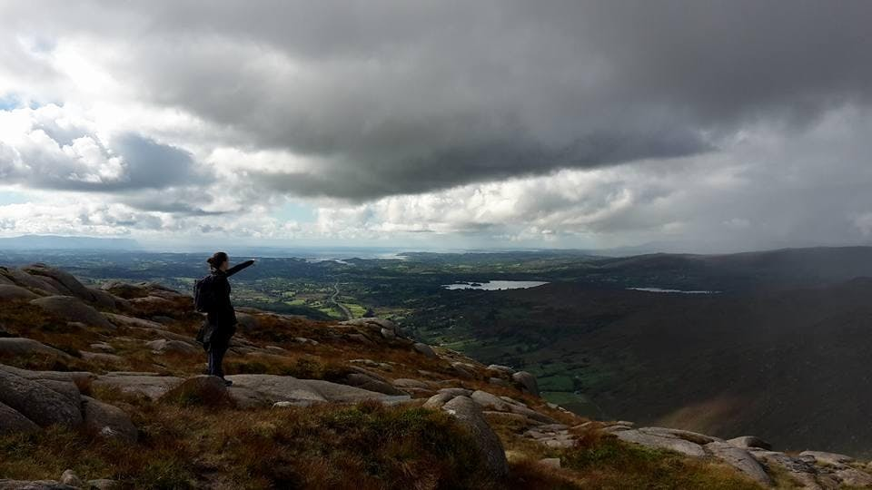Wild Walks - Barnesmore Gap - View from the Top