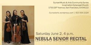 Nebula Senior Recital