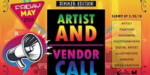 All Access Art Show Summer '18 Vendor Registration