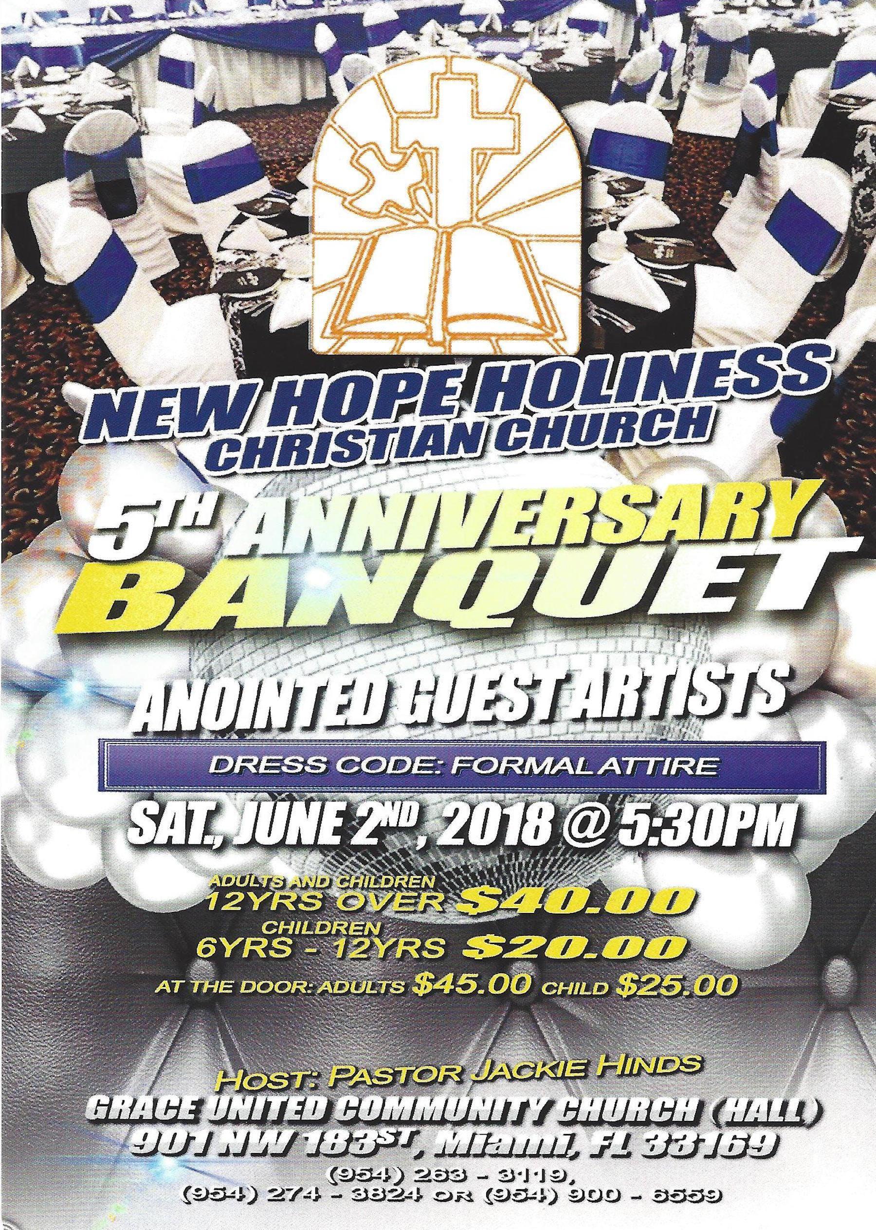 NHHCC 5th Anniversary Banquet
