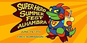 SuperHero Summer Fest Vendor Spots at TOY-ZILLA