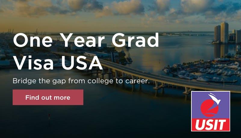 1 Year Graduate USA Visa info Talk - Dublin