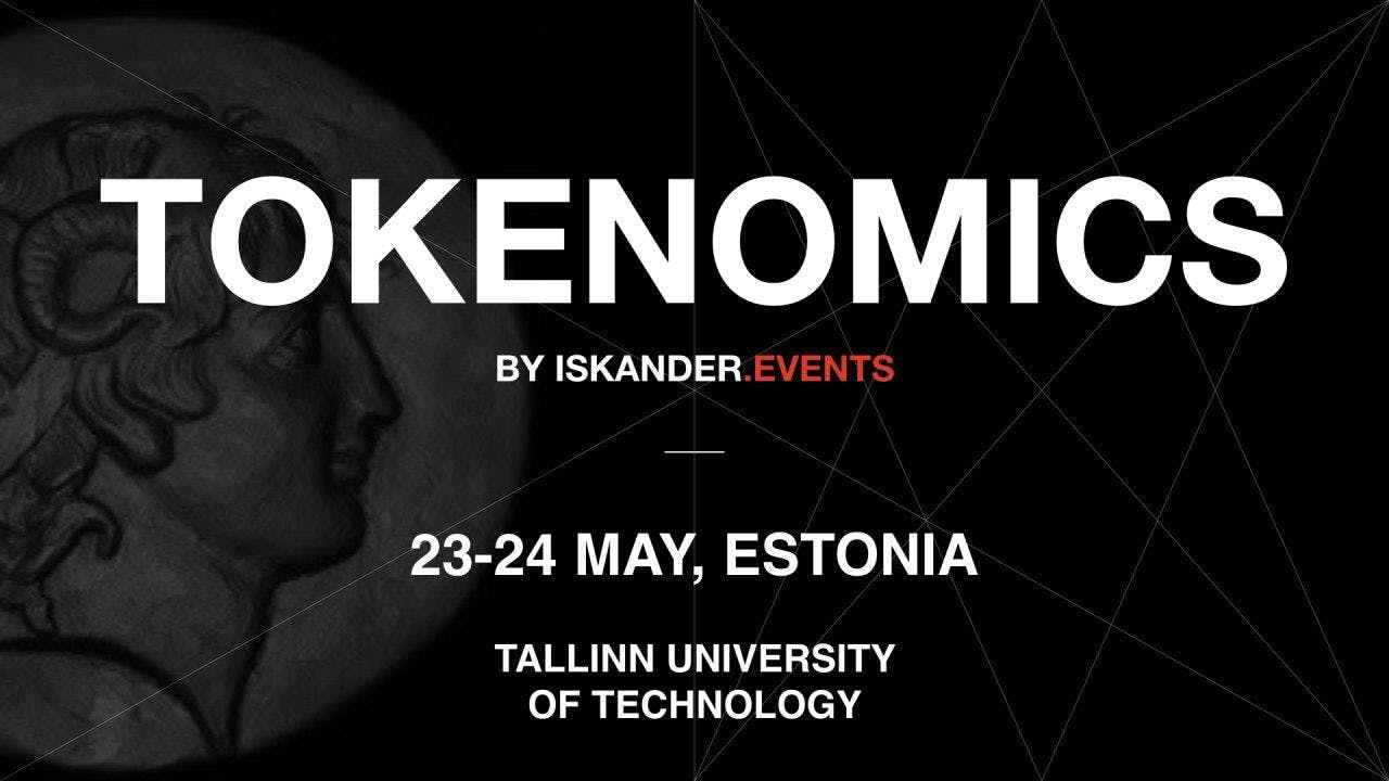 """Conference """"Tokenomics"""" by Iskander.events"""