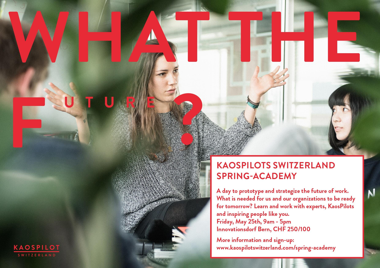 KaosPilots Spring Academy