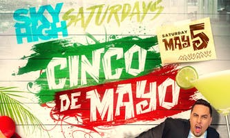 event in New York City: CINCO DE MAYO ROOFTOP PARTY SATURDAY NIGHT with COMPLIMENTARY VODKA open bar 10-11pm