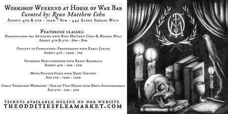 Weekend Workshops at House of Wax Bar tickets
