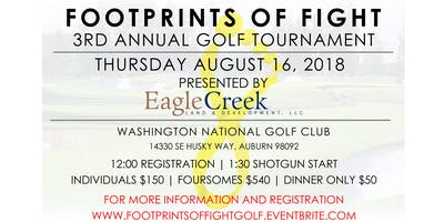 3rd Annual Footprints of Fight Golf Tournament