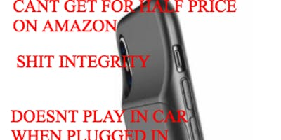 LUXMOBILE IPHONE BATTERY CASE IS OVERPRICED JUNK. DONT BUY. HEAD TO AMAZON FOR SAME PRODUCT AT HALF PRICE. DONT SUPPORT COMPANIES WITH SHITTY ETHICS. WONT RETURN YOUR MONEY.